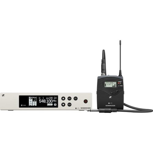 Sennheiser EW 100 G4-Ci1 Wireless Guitar System (A1: 470 to 516 MHz)