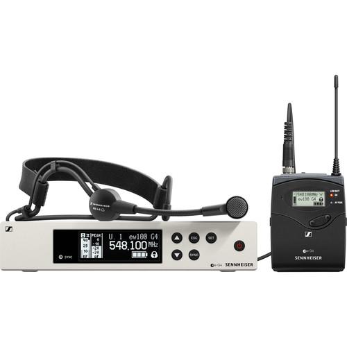 Sennheiser EW 100 G4-ME3 Wireless Cardioid Headset Microphone System (A1: 470 to 516 MHz)
