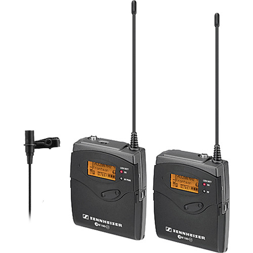 Sennheiser ew 112-p G3 Camera Mount Wireless and Water-Resistant Omnidirectional Lavalier Microphone Kit - B (626-668 MHz)