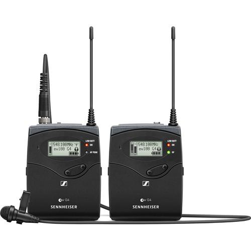 Sennheiser EW 112P G4 Camera-Mount Wireless Omni Lavalier Microphone System (A1: 470 to 516 MHz)