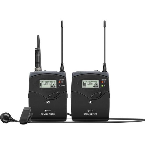 Sennheiser EW 122P G4 Camera-Mount Wireless Cardioid Lavalier Microphone System (A: 516 to 558 MHz)