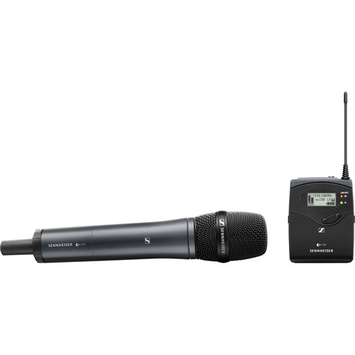 Sennheiser ew 135P G4 Camera-Mount Wireless Microphone System with 835 Handheld Mic G: (566 to 608 MHz)