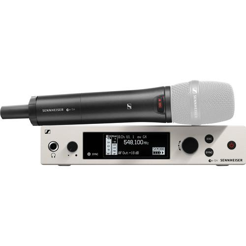 Sennheiser ew 300 G4-Base Combo Wireless Handheld Bodypack Combo Set, No Mics GW1: (558 to 608 MHz)
