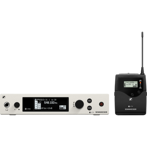 Sennheiser EW 300 G4-BASE SK-RC Wireless Microphone System with Bodypack, No Mic (GW1: 558 to 608 MHz)