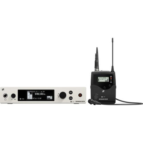 Sennheiser ew 300-ME2-RC Bodypack Lavalier Set with ME2II Microphone, GW1: (558 to 608 MHz)