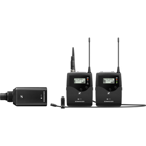 Sennheiser ew 500 Film G4 Wireless Combo System Kit with MKE2 Lavalier Microphone GW1 (558 to 608 MHz)