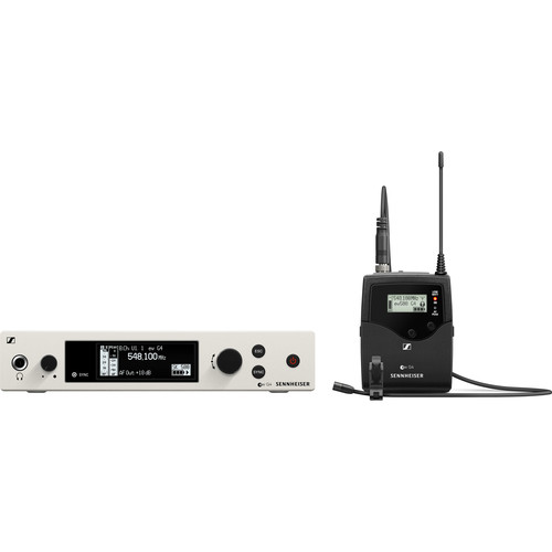 Sennheiser ew 500 G4-MKE 2 Wireless Lavalier Microphone System AW+ (470 to 558 MHz)
