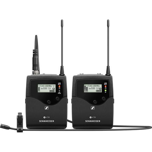 Sennheiser EW 512P G4 Camera-Mount Wireless Omni Lavalier Microphone System (AW+: 470 to 558 MHz)