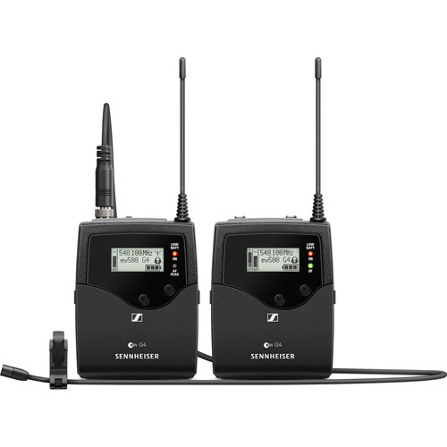 Sennheiser ew 512P G4 Pro Camera Wireless Bodypack System with MKE-2 Gold Lavalier Microphone GW1 (558 to 608 MHz)