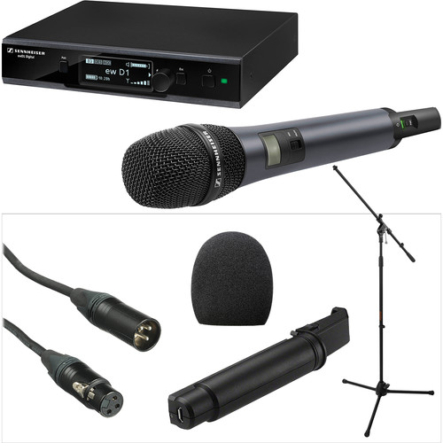 Sennheiser ew D1-835-S Digital Wireless Vocal Set & Handheld Transmitter Kit