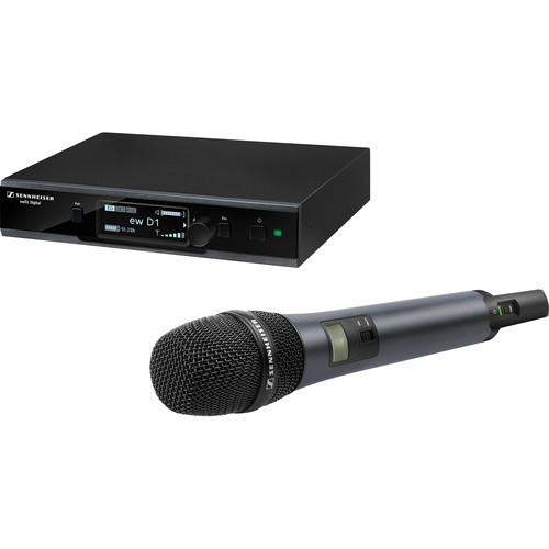 Sennheiser ew D1-845-S Digital Wireless Vocal Set with Handheld Transmitter & e845 Super-Cardioid Capsule