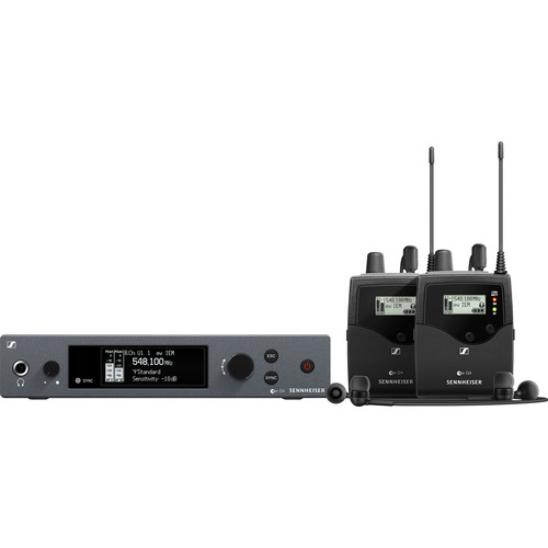 Sennheiser ew IEM G4-Twin Wireless Monitor System Kit (A1: 470 to 516 MHz)