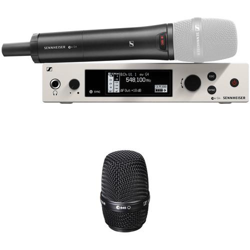 Sennheiser G4 300 Series Wireless Handheld 845 Microphone Bundle Kit, GW1: (558 to 608 MHz)
