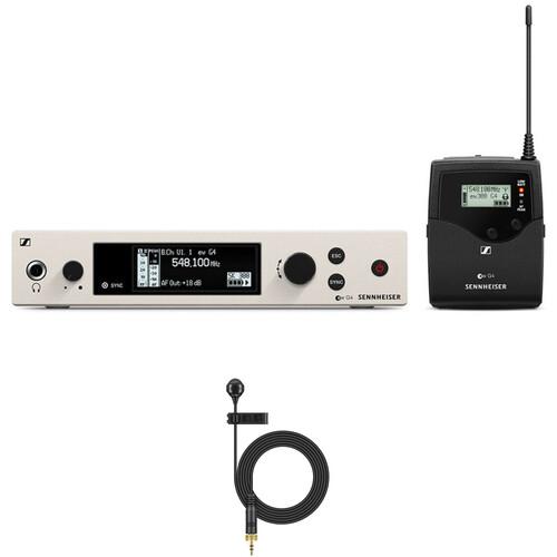 Sennheiser G4 300 Series Wireless Lavalier ME 4 Microphone Bundle Kit, AW+ (470 to 558 MHz)