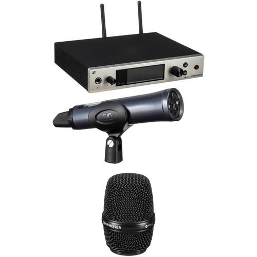 Sennheiser G4 300 Series Wireless Handheld 835 Microphone Bundle Kit, Aw+: (470 to 558 MHz)