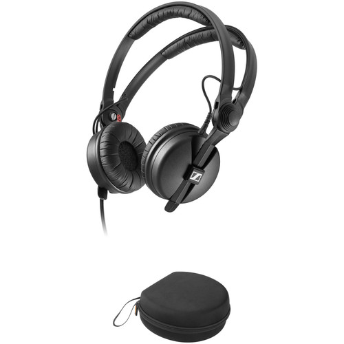 Sennheiser HD 25 PLUS Monitor Headphones Kit with EVA Case