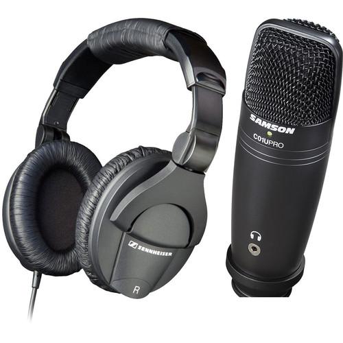 Sennheiser HD 280 Pro Recording Kit with USB Microphone