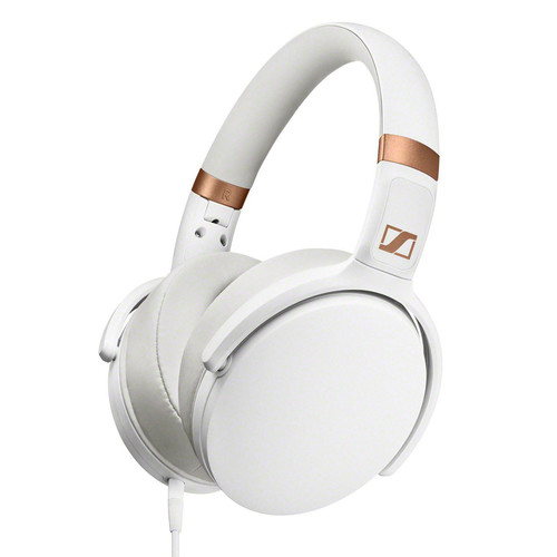 Sennheiser HD 4.30i Over-Ear Headphones with 3-Button Remote Mic (White)