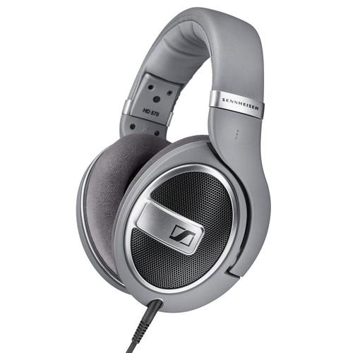 Sennheiser HD 579 Open-Back Around-Ear Headphones (Matte Gray)