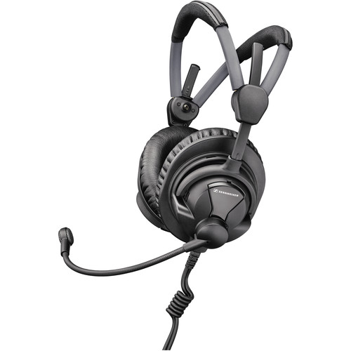 Sennheiser HME27 Broadcast Headset with Pre-Polarized Condenser Microphone (No Cable)