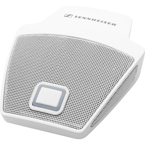 Sennheiser MEB 114-S TC Tabletop Microphone with TeamConnect-Compatible Cable (White)