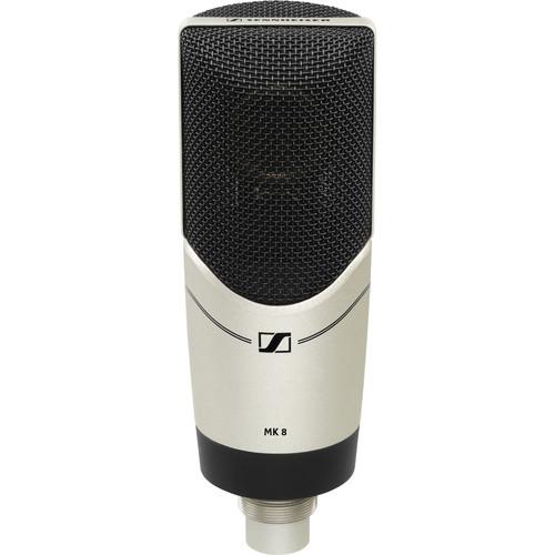 Sennheiser MK 8 Multiple-Pattern Large Diaphragm Condenser Microphone