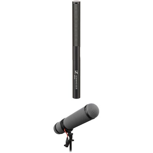 Sennheiser MKE600 Shotgun Microphone Kit with Rycote Super-Blimp