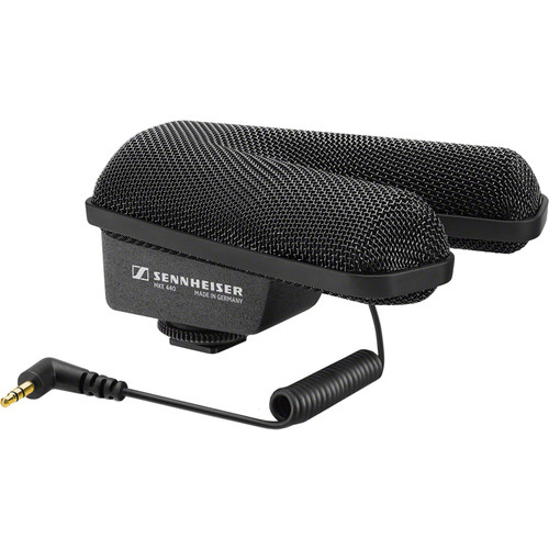 Sennheiser MKE 440 Compact Stereo Shotgun Microphone and Windbuster Kit