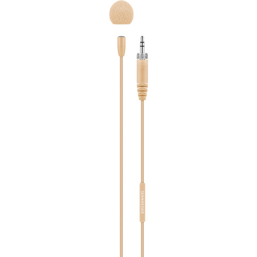Sennheiser MKE Essential Omnidirectional Microphone with 3.5mm Connector (Beige)