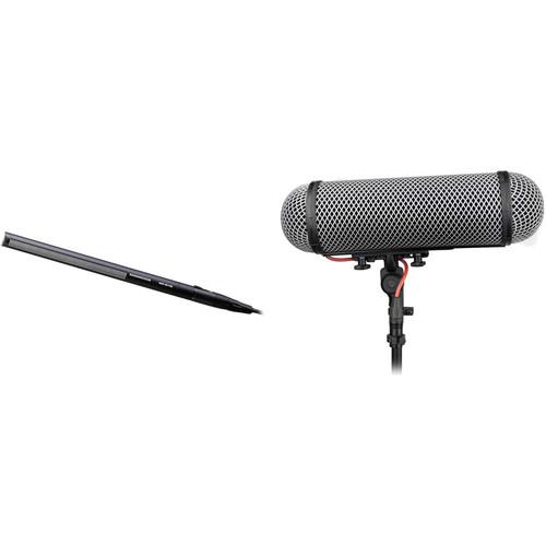 Sennheiser MKH416 Shotgun Microphone Kit with Rycote Windshield