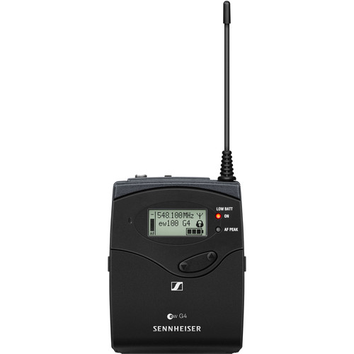 Sennheiser SK 100 G4 Wireless Bodypack Transmitter G: (566 to 608 MHz)