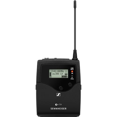 Sennheiser SK 300 G4-RC Bodypack Transmitter AW+: (470 to 558 MHz)