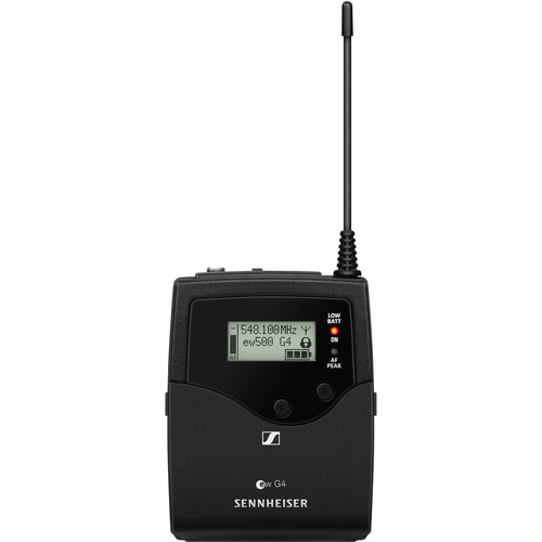 Sennheiser SK 500 G4 Wireless Bodypack Transmitter (AW+: 470 to 558 MHz)