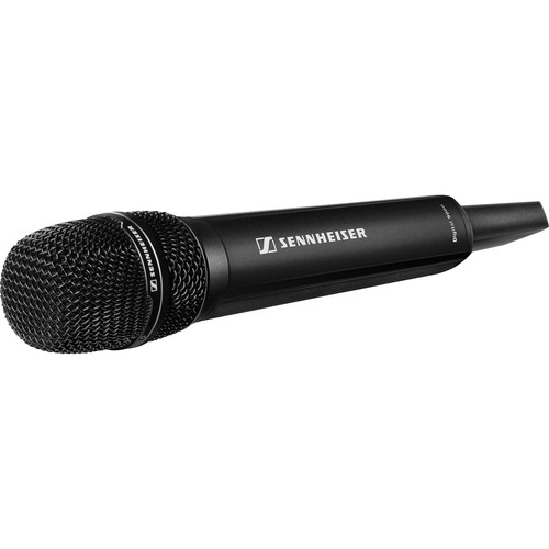Sennheiser SKM 9000 COM Digital Handheld Wireless Microphone Transmitter with No Mic Capsule & No Battery Pack (A5-A8 US: 550 to 608 MHz, Black)