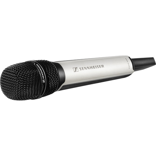 Sennheiser SKM 9000 COM Digital Handheld Wireless Microphone Transmitter with No Mic Capsule & No Battery Pack (A1-A4: 470 to 558 MHz, Nickel)