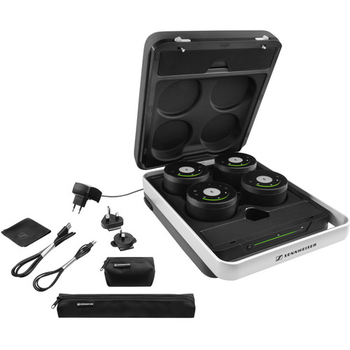Sennheiser TeamConnect Wireless Audio Conferencing System with Case