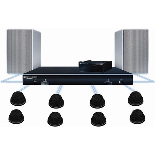 Sennheiser TeamConnect Large Fix Audio Conferencing System Bundle (16 Person)