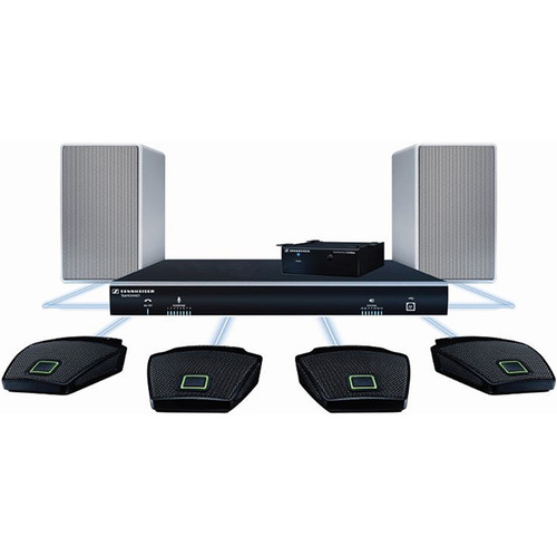 Sennheiser TeamConnect Standard Flex Audio Conferencing System Bundle (8 Person)