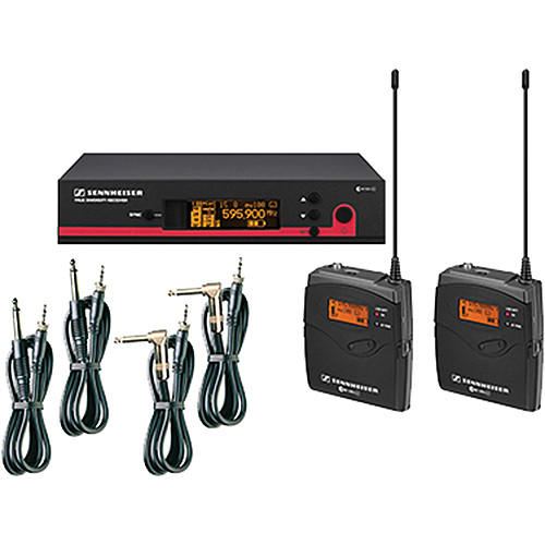 Sennheiser ew 172-2 G3 Dual Guitar System - A (516 - 558 MHz)