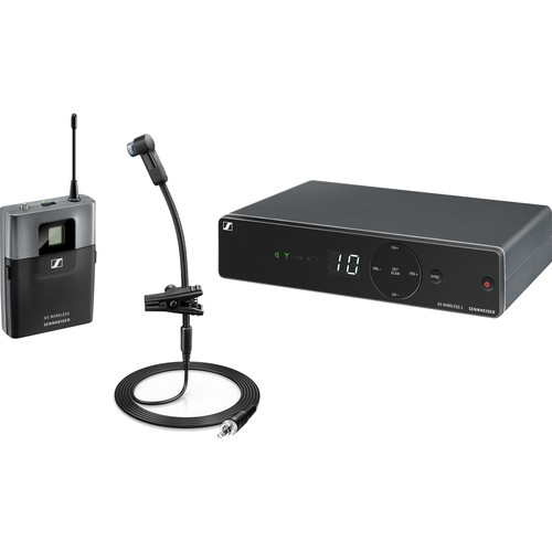 Sennheiser XSW 1-908-A UHF Wireless Brass Set with e908T Gooseneck Mic (A: 548 to 572 MHz)