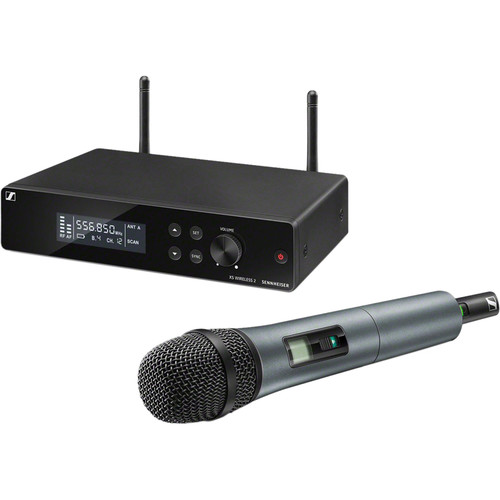 Sennheiser XSW 2-835-A Wireless Handheld Microphone System with e835 Capsule (A: 548 to 572 MHz)