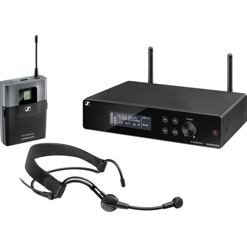Sennheiser XSW 2-ME3-A Wireless 2 Headset Microphone System (A: 548 to 572 MHz)