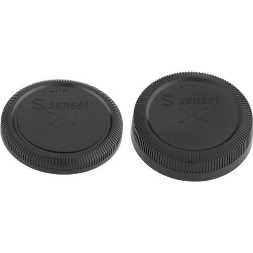 Sensei Body and Rear Lens Cap for Fuji (B&H Kit)