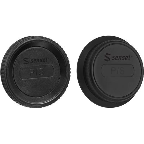 Sensei Body Cap and Rear Lens Cap Kit for Pentax K-Mount
