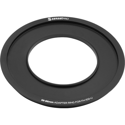 Sensei Pro 58mm Adapter Ring for 100mm Aluminum Universal Filter Holder