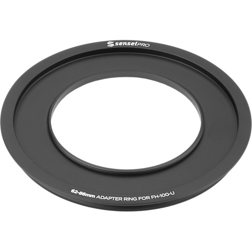 Sensei Pro 62mm Adapter Ring for 100mm Aluminum Universal Filter Holder