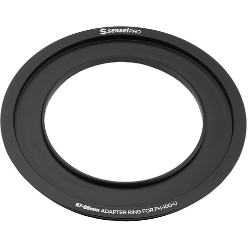 Sensei Pro 67mm Adapter Ring for 100mm Aluminum Universal Filter Holder