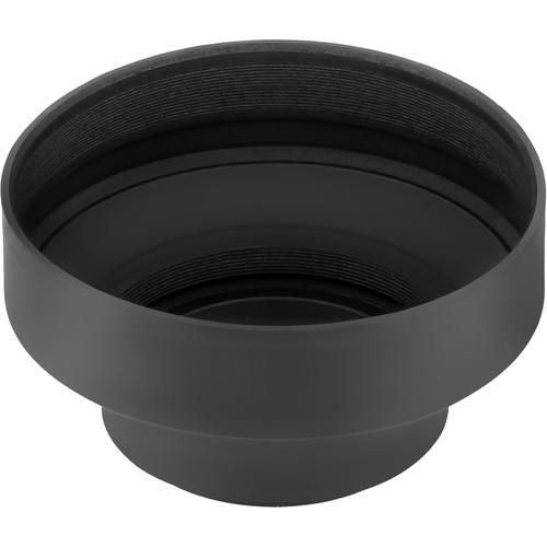 Sensei LHR2-T58 3-In-1 Rubber Lens Hood (58mm)