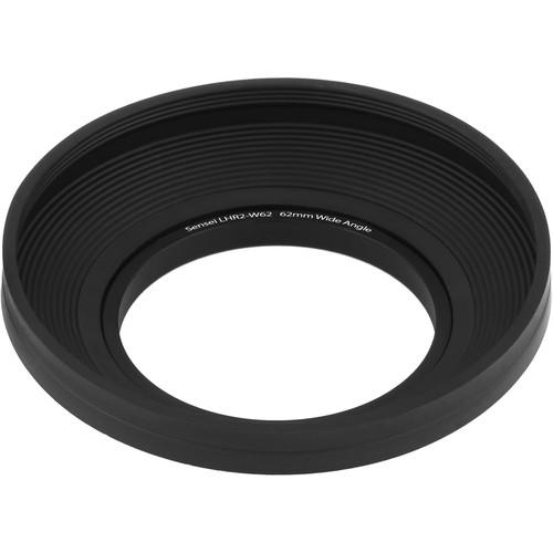 Sensei Wide-Angle Rubber Lens Hood (62mm)