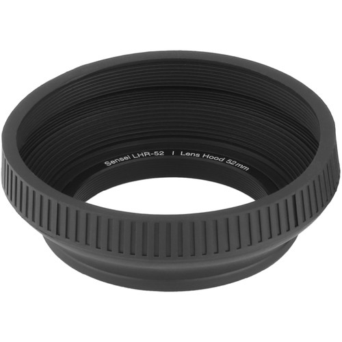 Sensei 52mm Collapsible Rubber Lens Hood